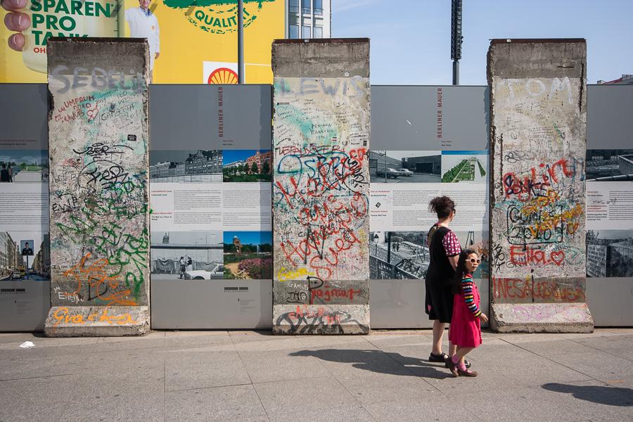 Ein Stück Mauer
