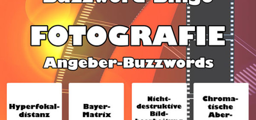 Fotografie-Buzzwords
