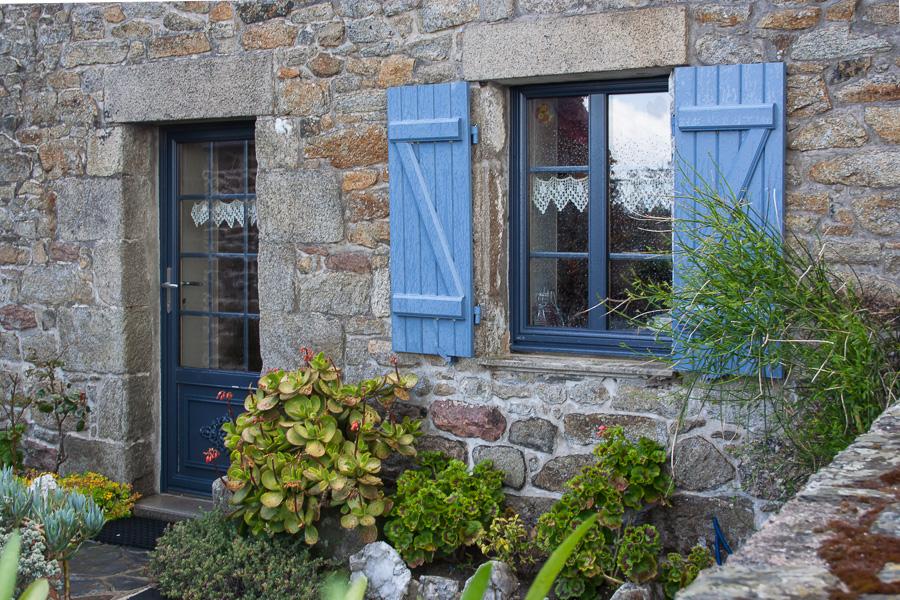 Bretonischer Vorgarten