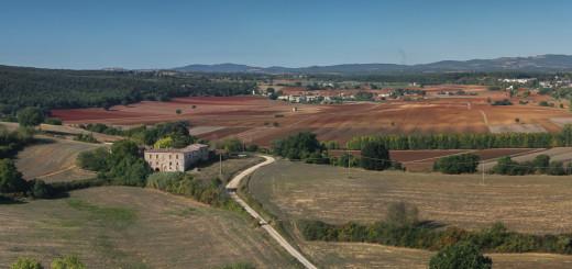 Toskanische Felder