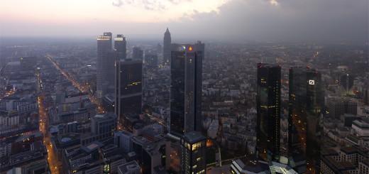 Moderne Architektur in Frankfurt