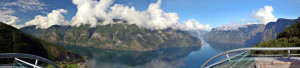 Panorama vom Aurlandsfjord