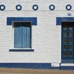Bretonischer Hauseingang