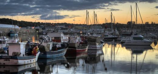 Hafen von Concarneau