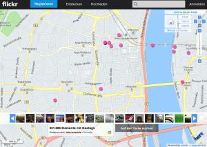 Flickr-Karte